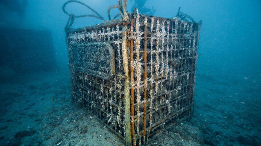 Unterwasser-Weinkeller in Calpe, Spanien