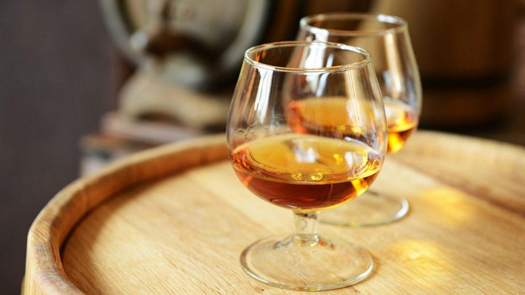 Brandy-producing wineries