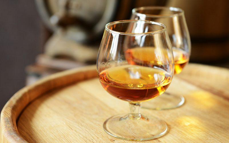 Weingüter, die Branntwein oder Brandy herstellen