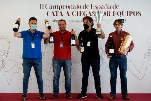 Resultado del Campeonato de España Cata a Ciegas por Equipos